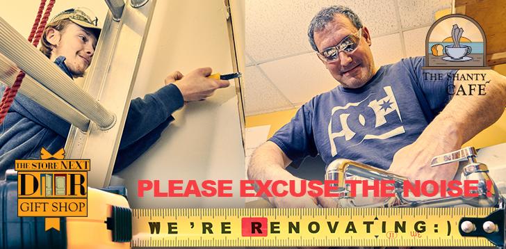 We're renovating!